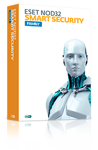 ESET NOD32 Smart Security Family для 5 устройств